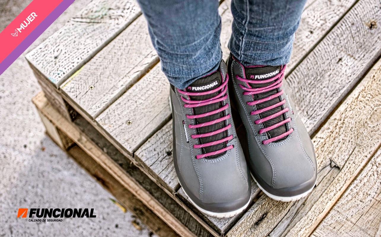 zapatos funcional mujer